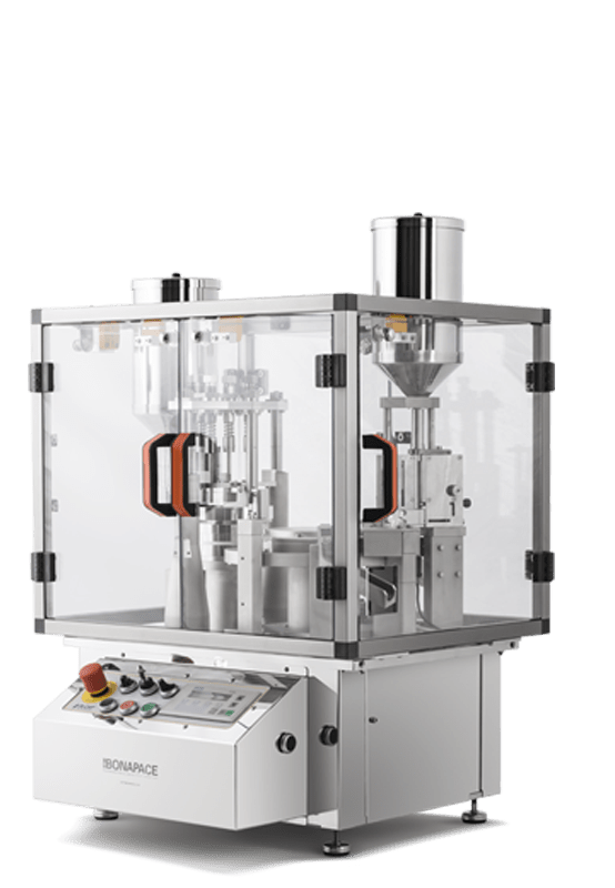 IN-CAP - CAPSULE FILLER, FULLY AUTOMATIC